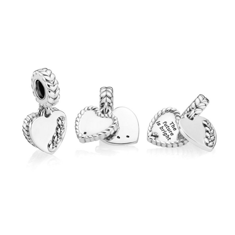 Bead - Sterlingsilber - Charm Bright Seeds