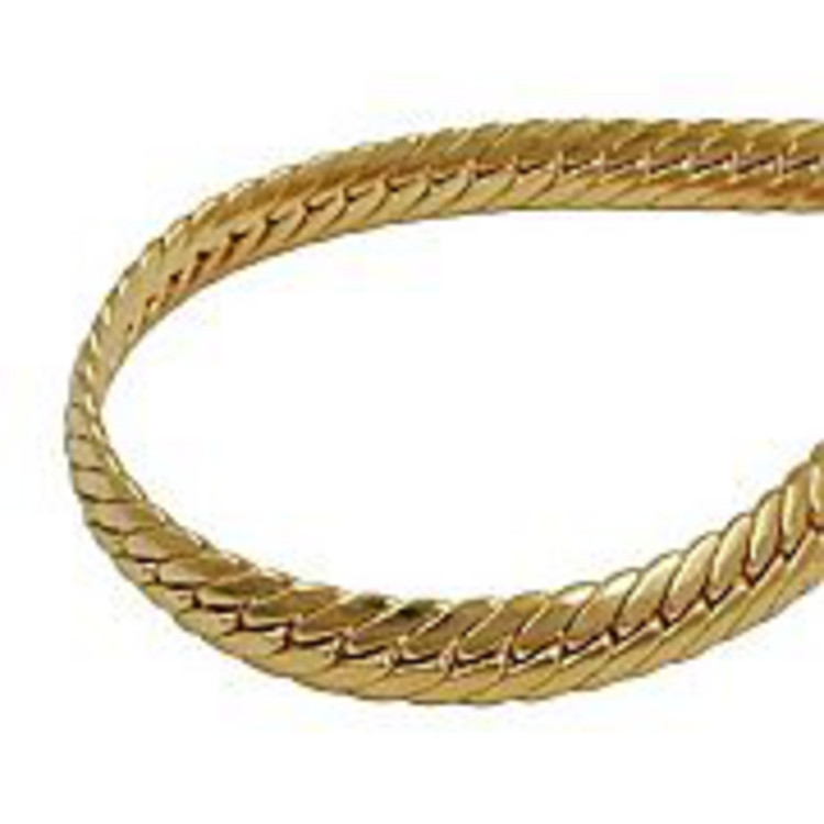 Armband - Gold 375 - 9K - Panzer Fashion 19 cm