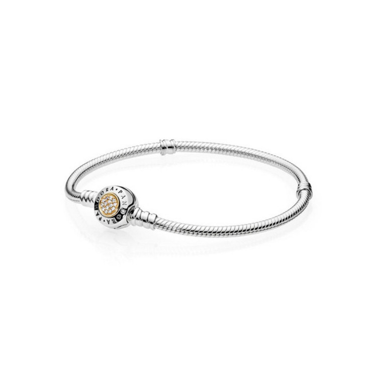 Armband - Sterlingsilber Gold 19 - Basisband
