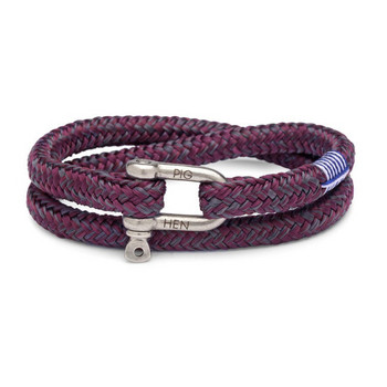 Salty Steve ML - Bordeaux - Armband Nylon 19cm