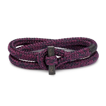 Tiny Ted L - Bordeaux - Armband Nylon 20cm