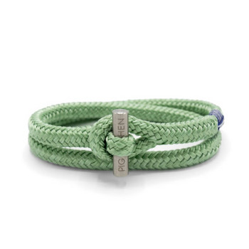Tiny Ted M - Mint Green - Armband Nylon 18cm
