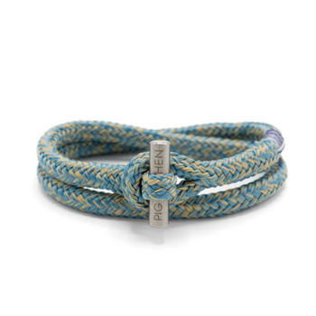 Tiny Ted SM - Blue Sand - Armband Nylon 17cm