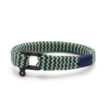 Sharp Simon S - Mint Grau - Armband Nylon 16cm