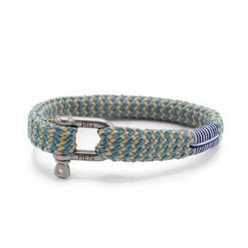 Sharp Simon M - Blue Sand - Armband Nylon 18cm