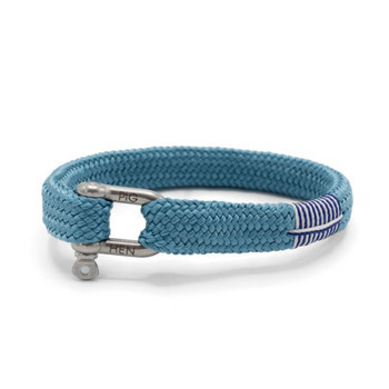 Sharp Simon L - Sky Blue - Armband Nylon 20cm