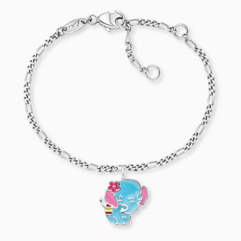 Armkette - Sterlingsilber - Elefant - multicolor