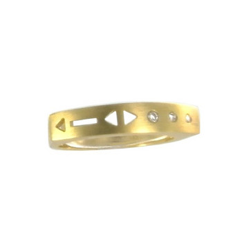 Ring 57 - Gelbgold 585 - Brillant 0,05ct