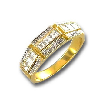 Ring 54 - Gelbgold 750 - Brillanten 0,60ct