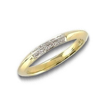 Ring 56 - Gelbgold 585 - Brillant 0,05ct