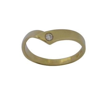 Ring 57 - Gelbgold 585 - Brillant 0,04ct