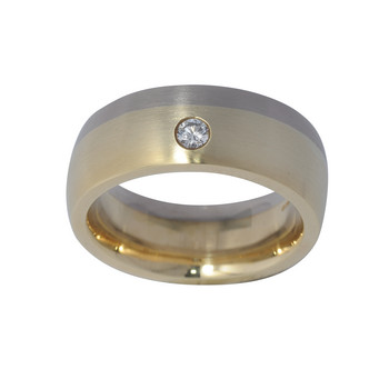 Ring 56 - Gelbgold 585  - Brillant 0,10ct