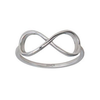 Ring 54 - Sterlingsilber - Infinity
