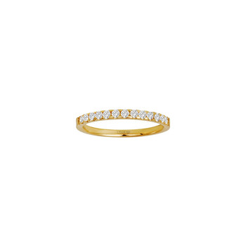 Ring 54 - Gelbgold 585 - Memoire Ring 0,25ct