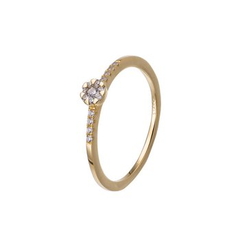 Ring 54 - 585 Gelbgold - Brillanten 0,11ct