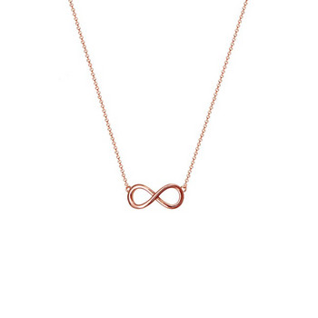 Collier - Sterlingsilber - Infinity - rosé