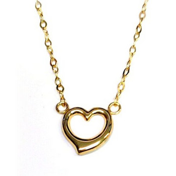 Collier - Gold 375 9K - Anker 45 - Herz