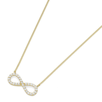 Collier - Gold 375 9K - Panzer 45 Infinity - gold