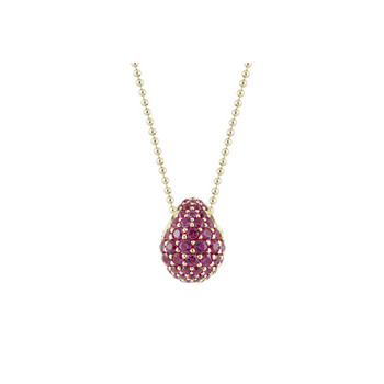 Collier - Drops - Sprinkle - rosé/pink