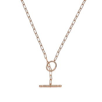Collier - Delight - Silber mit Knebel rosé