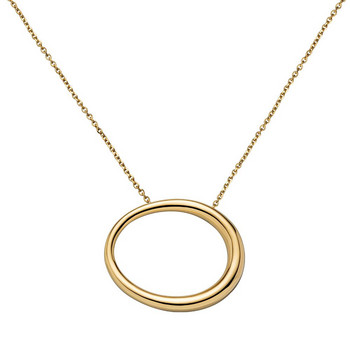 Collier - Oval Collection - goldfarben
