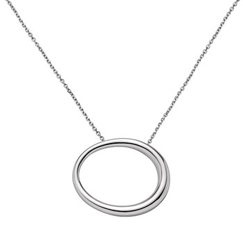 Collier - Oval Collection - silberfarben