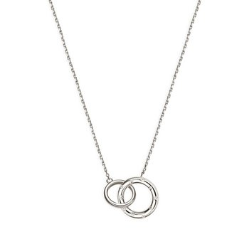 Collier - Silber - Flash - 2 Ringe