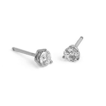 Ohrstecker - Gold 750 18K Diamant 0,30ct