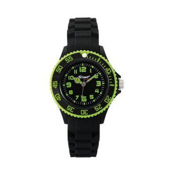 Kinderuhr The Scout Silikonband black analog Kids