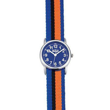 Kinderuhr - Start Up - blau/orange