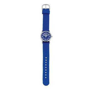 Kinderuhr - Start-up - Metall Nylon - blau