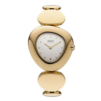 Uhr Dame - Pebble - IP gold - Metallband