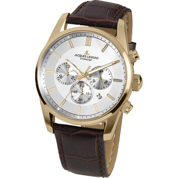 Chronograph - Classic 42-6D - Stahl goldfarben