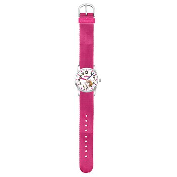 Kinderuhr - Serie UP - Pferde pink