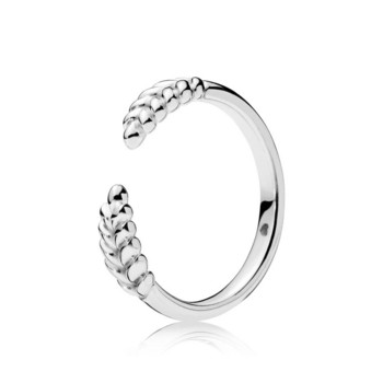 Ring 54 - Sterlingsilber - Open Grains