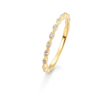 Ring - Gelbgold 585 - Brillanten 0,105ct