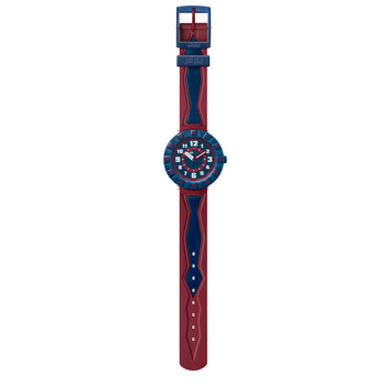 Kinderuhr - Get It In Navy - rot/blau